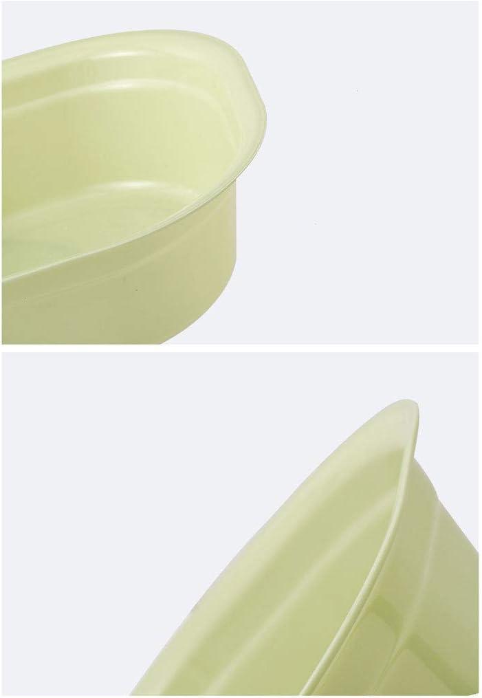 Extraordinary 2 Piezas de Lavabo de pl/ástico Engrosado,Lavabo para beb/és,ba/ño de Lavado de Vegetales de pl/ástico para el hogar peque/ño,Mediano,Grande//Rosa,Verde,Azul