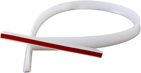 Harwls Flexible Silicone Water Stopper Strips Floor Water Barriers for Kitchen Bathroom