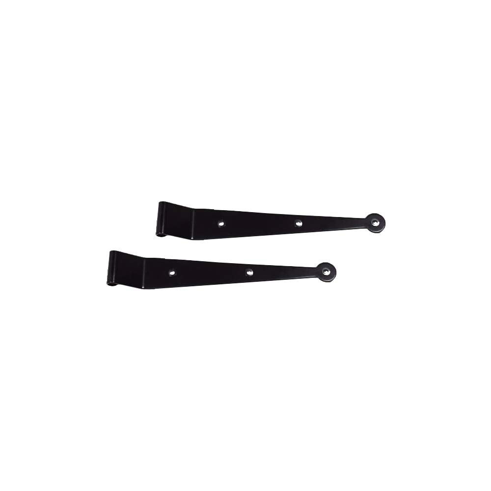 Timberlane Genuine 10'' Standard Duty Tapered Strap, 1/2'' Offset, Black Powder Coated Stainless Steel by Timberlane