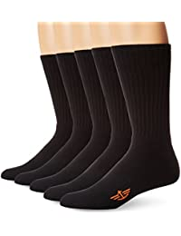 Men's 5 Pack Cushion Comfort Sport Crew Socks