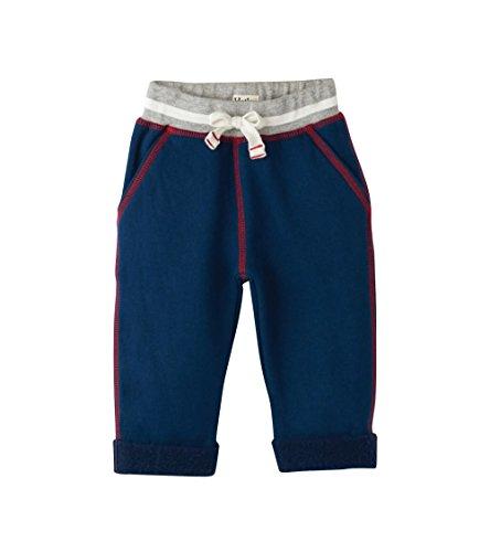 Hatley Baby Boys Mini Joggers, red, White/Blue 3-6M - Hatley Blue Stripes