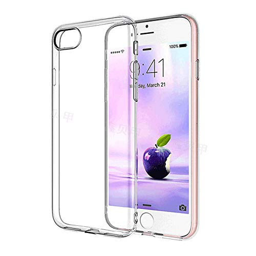 LZHCH iPhone 7 Case Shock-Absorption Bumper Cover Anti-Scratch Crystal Clear Back (HD Clear) Compatible with iPhone 7/8