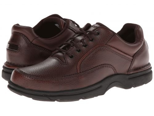 リングレット引き渡す狂ったRockport(ロックポート) メンズ 男性用 シューズ 靴 オックスフォード 紳士靴 通勤靴 Eureka - Brown Leather [並行輸入品]