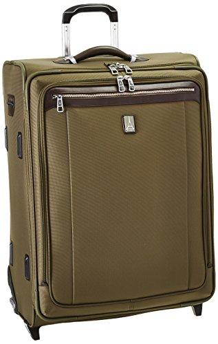 Travelpro Platinum Magna 2 26 Inch Express Rollaboard Suiter, Olive, One (Travelpro Platinum 6)