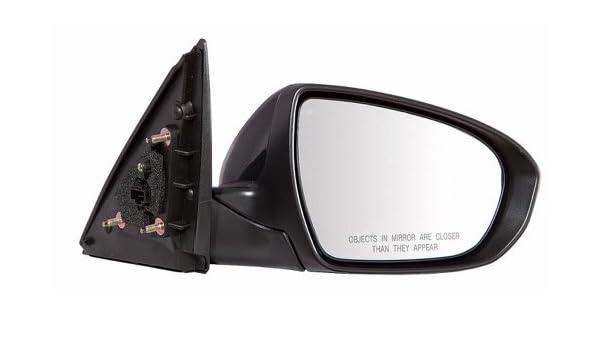 New Passengers Power Side Mirror Glass Housing w// Signal for 11-13 Kia Optima