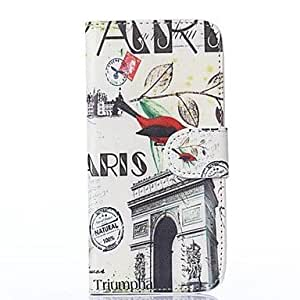 Magpies Tower PU Leather Full Body Case with Card Slot for HTC One M8 Mini
