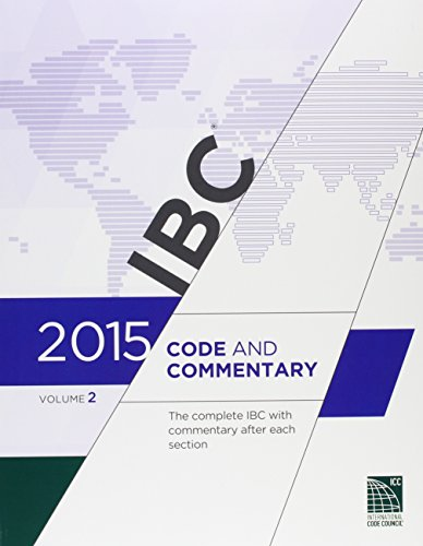2015 International Building Code Commentary, Volume 2 by ICC (distributed by Cengage Learning)