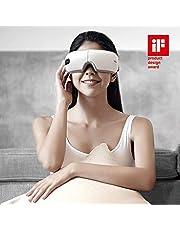 Breo Massaggiatore Oculare, Dispositivo di Massaggio per Rilassare Gli Occhi grazie alla Pressione dell'Aria, alle Vibrazioni e al Calore, Allevia l'Affaticamento, Favorisce la Sonnolenza - iSee4