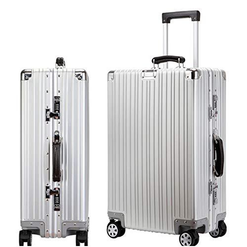 [해외]가방 여행 출장 알루미늄 가방 운반 케이스 알루미늄 마그네슘 합금 경량 저소음 TSA 자물쇠 장착 가방 알루미늄 가방 사이즈 6 색 / Suitcase Travel Trip Aluminum Suitcase Carry Case Aluminum Magnesium Alloy Lightweight Quiet TSA Lock Equi...
