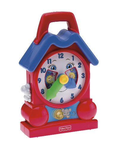Fisher Price Bright Beginnings Musical Teaching Clock by Fisher-Price