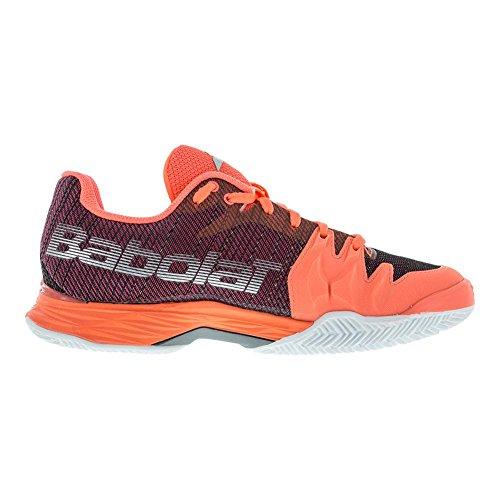 Babolat Damen Jet Mach II All Court Tennisschuhe Fluo Pink / Silber / Fandango Pink