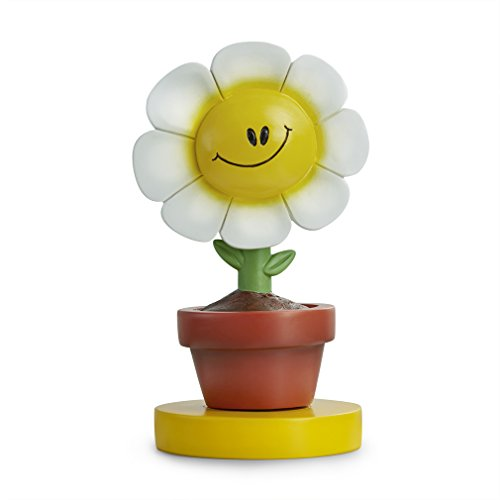 MaxMaxi Chrismas Gifts New Year Gifts Sweet Lovely Sunflower Handmade Hand Sculpted Hand Painted Resin BOBBLEHEAD ( Daisy)