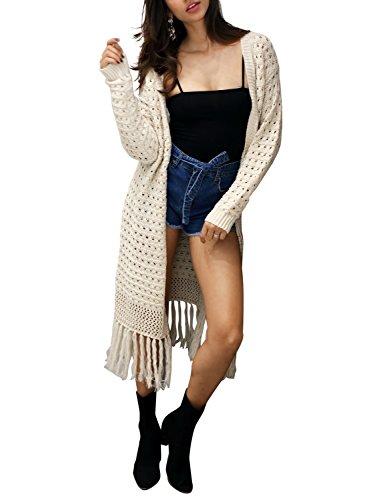Cream Cardigan Sweater - 9