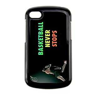 Generic Silica Quilted Back Phone Case For Kid Printing Basketball Never Stops For Blackberry Q10 Choose Design 2