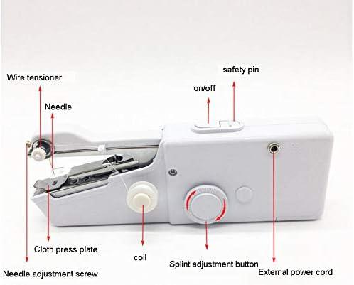 Handy Stitch Máquina De Coser De Mano Eléctrica Hogar Portátil ...