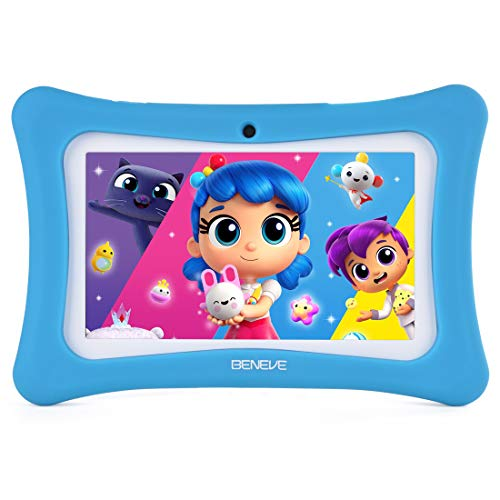 Kids Tablet - 7 inch Kids Edition Tablet with IPS Safety Eye Protection Screen, Android 7.1 WiFi, Camera, Games, Google Play Store, Bluetooth, (B)