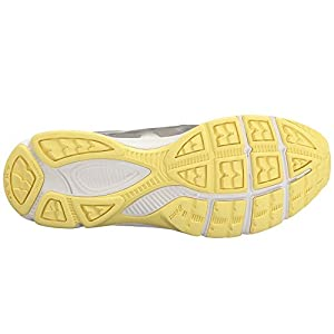 ASICS GelQuickwalk 3 Shoe Women's Walking 7 Aluminum-Silver-Elfin Yellow
