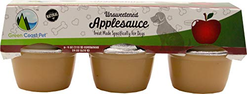 Green Coast Pet Unsweetened Applesauce for Dogs (Original)