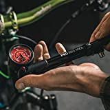 Bike Shock Pump for Mountain, MTB, Road Bikes and