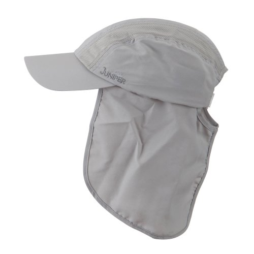 UV 50+ Talson Cap with Detachable Flap - Grey OSFM (E4hats Cotton Flap Hat)