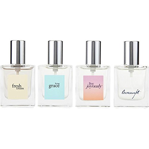 - Philosophy Fragrance Favorites 4 Piece Gift Set. Fresh, Grace, Joyously & Loveswept