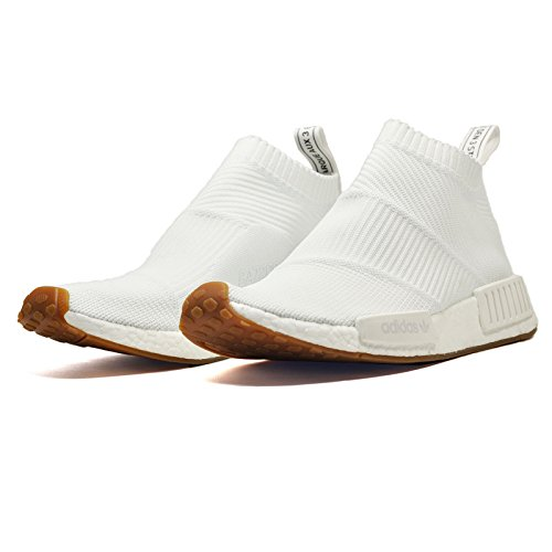 Adidas Originals Delle Donne Nmd_cs1 Pk Sneaker Ftwr Bianco / Ftwr Bianco / Gum
