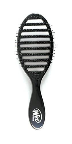 Wet Brush Speed Dry Vented Hair Brush, Black