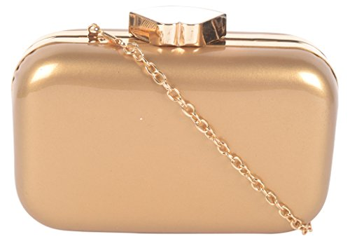 Kleio Classy Chic Party Box Sling Clutch