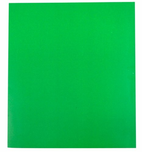 C-Line Recycled Two-Pocket Paper Portfolio with Prongs, Color May Vary, 1 Folder Only (05320) (Single Pocket Portfolios)