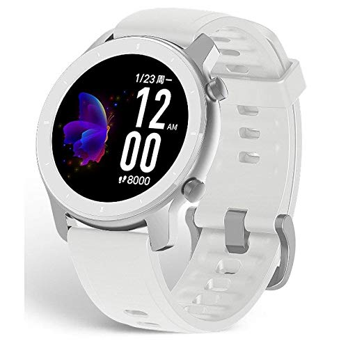 Smartwatch Amazfit GTR 42mm/A1910 42 Moonlig. White Xiaomi: Amazon ...