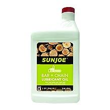 Sun Joe SWJ-OIL Chain Saw Bar Chain and Sprocket Oil, 1-Quart