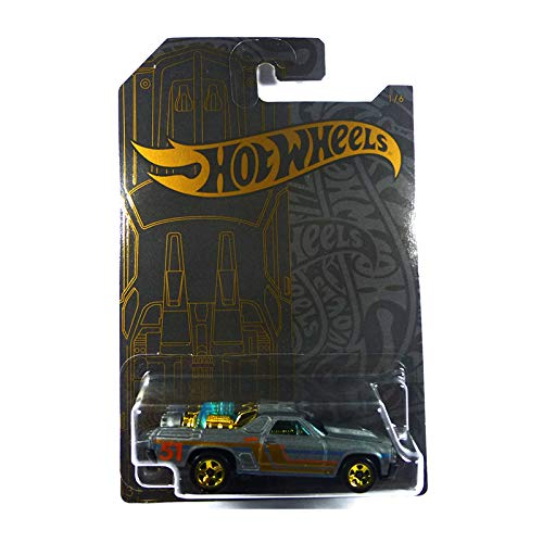 Hot Wheels Compatible Custom '71 El Camino 1 of 6 51st Anniversary Series 1:64 Scale Collectible Die Cast Model Car