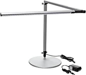 Beau Koncept AR3000 W SIL DSK Z Bar LED Desk Lamp, Warm