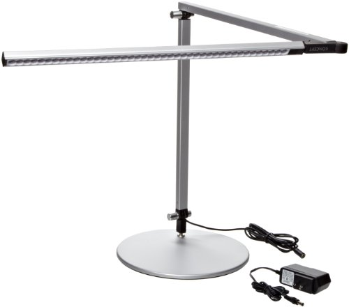 Koncept-AR3000-W-SIL-DSK-Z-Bar-LED-Desk-Lamp-Warm-Light-Silver