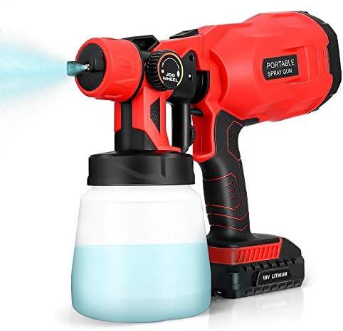 HHSUC Nano Steam Gun,Electric Fogger Machine,ULV Sprayer Rechargeable Nano Atomizer Cordless,27oz/800ml Portable Handheld Mini Mist Gun for Home, Room, Office, School, Bus