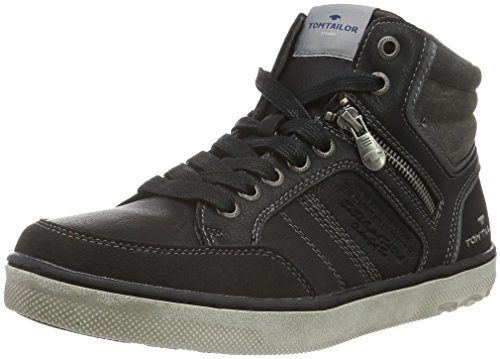 Tom Tailor 1680403 - Zapatillas Hombre Negro - negro