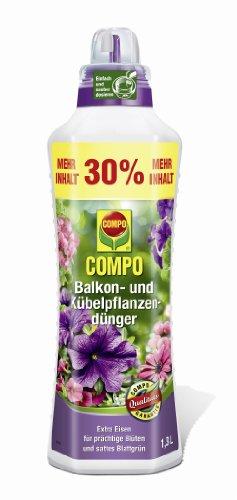 Compo 1436702 Balkon- und Kübelpflanzendünger 1.3 Liter