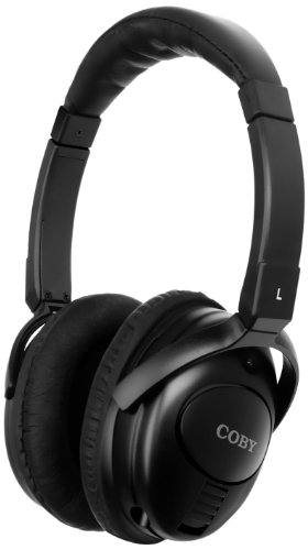 Coby CV195 Digital Active Noise-Canceling Stereo H...