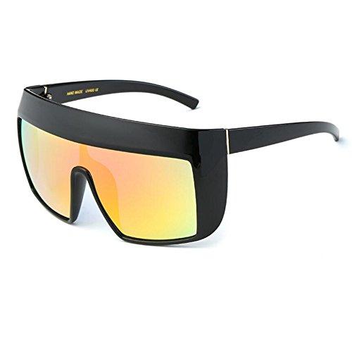 KLXEB Acetat Surdimensionnée Sonnenbrille Frauen Télévision Top Quadrat Sonnenbrille Retrobrille