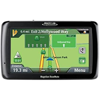 Magellan Roadmate   Inch Widescreen Portable Gps Navigator With Lifetime Traffic
