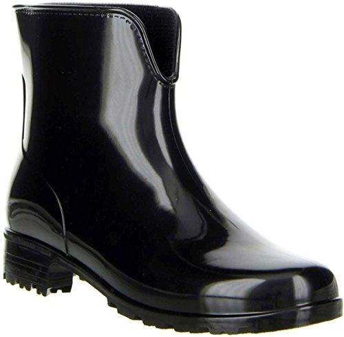 EU Botas Mujer 41 Caucho Negro Schuh de Vista para Negro TqpFFR