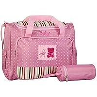 Bolsa de Maternidade Baby rosa claro MM120