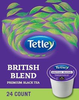 Tetley British Blend Premium Black Tea 48 K Cups