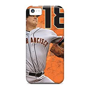 Best Hard Phone Cases For Iphone 5c (HLZ5736EOYQ) Provide Private Custom Realistic San Francisco Giants Pattern
