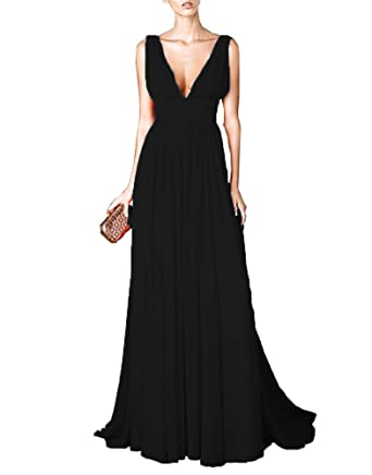 Orange Black Bridesmaid Dresses,