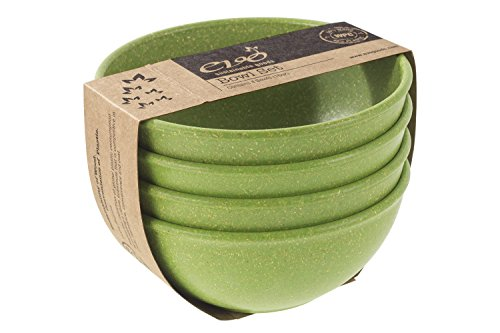 EVO Sustainable Goods 16 oz. Bowl Set, Green