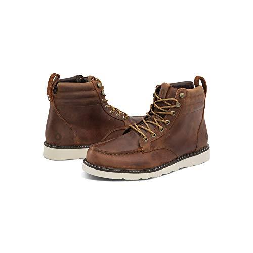 Volcom Men's Willington Waterproof Leather Boot, Rust, 11 D US (Volcom Snowboard Boots)