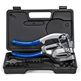 Capri Tools 21050 Metal Hole Punch Set with Puncher, 16 Piece