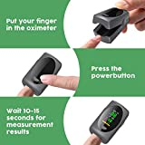 Pulse Oximeter Fingertip, Digital Blood Oxygen