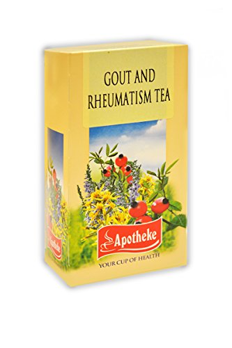 Apotheke Gout and Rheumatism Herbal Tea - 20 teabags